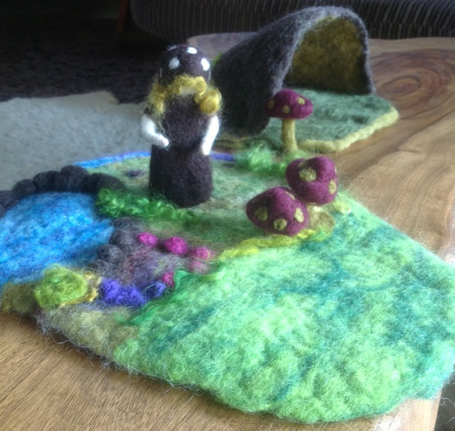 Felted Playmat
