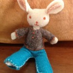 Felted Toy Mouse