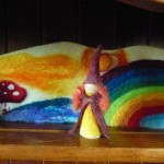 Felted Rainbow Backdrop